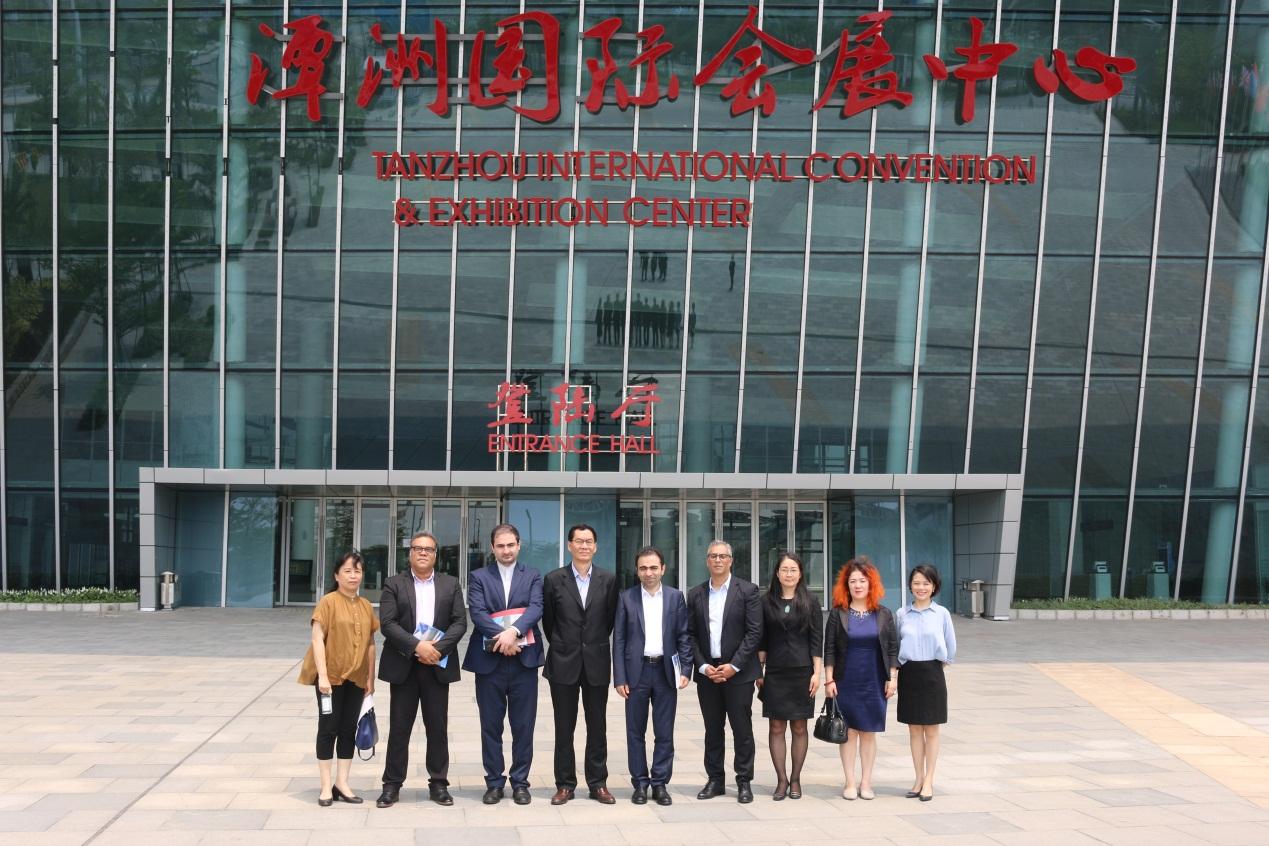 伊朗驻广州总领事馆和伊朗创新中心代表参观中陶联盟