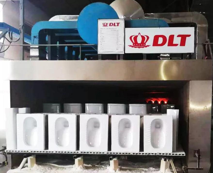 再突破!印度首条中国制造的卫生洁具隧道窑花落德力泰