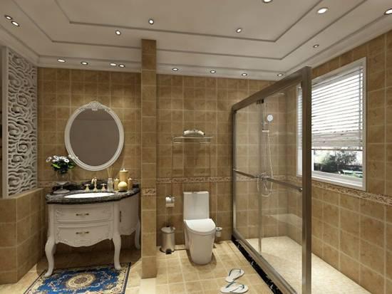 想让卫浴空间美一点,浴室柜选对风格很重要
